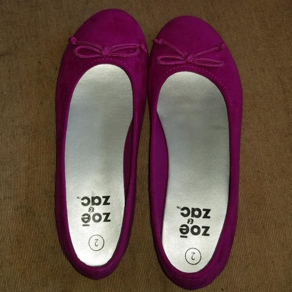 Girls Hot Pink Ballet Flats   Poshmark